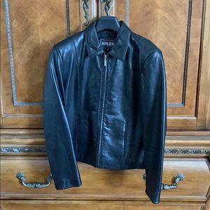 Adler Collection Black lamb skin jacket